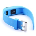 TW64S Smart Bracelet w/ Pedometer, Heart Rate Monitor - Blue