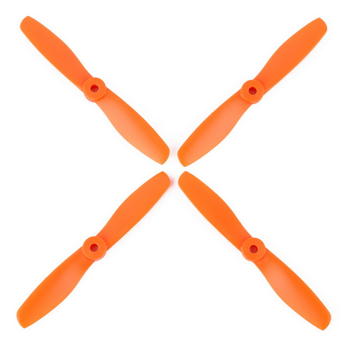 OCDAY VMAX9250 5045 Strengthened CCW & CW Props Propellers for H250 - Orange (2 Pairs)