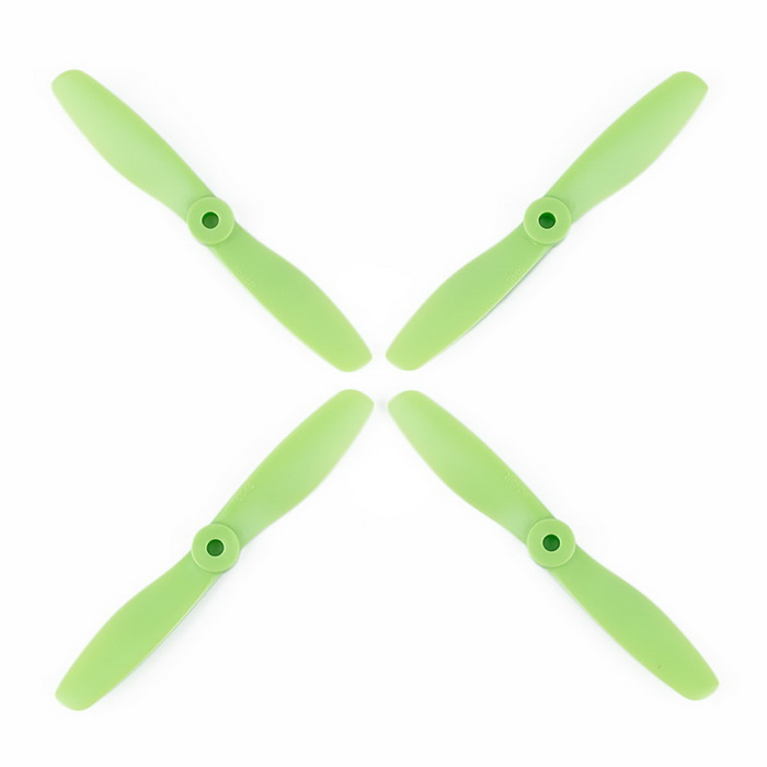 OCDAY VMAX9256 5045 Strengthened CCW & CW Props Propellers for H250 - Green (2 Pairs)