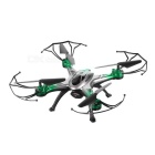 JJRC H29-H29W 2.4GHz FPV R/C Quadcopter w/ 6-Axis Gyro - Black + Green