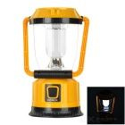 Buy AoTu LSC-9208 Outdoor Solar USB Rechargeable Camping Lantern - Yellow + Black Multicolor