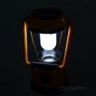 AoTu LSC-9208 Outdoor Solar USB Rechargeable Camping Lantern - Yellow + Black + Multicolor