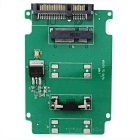 MSATA/SATA Adapter Card - Green + Black + Multicolor