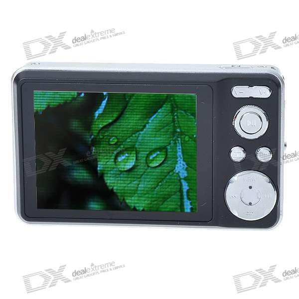 "2.4"" LCD 1.3MP Portable Media Player with Digital Camera and FM Radio - Silver (2GB Internal Memory)"