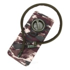 AoTu Ciclismo Folding Água potável Bag w / Big Mouth - ACU Camouflage