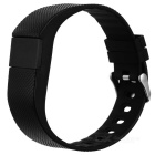 TW64S inteligente Bracelet w / pedômetro, Heart Rate Monitor - Black