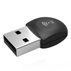 2.4G & 5G Dual Band 433Mbps 802.11AC Wi-Fi USB Adapter - Black