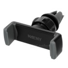 Naeny 360' Rotation Car Air Conditioning Outlet Anti-Slip Holder for Cellphone - Black + Gray