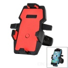 360' Rotation Motorcycle Bicycle Mount Holder for GPS, Phone - Red