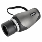 Outdoor 10 x 30 Monocular Telescope - Black + Olive Green