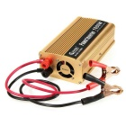 BEAUTY-CAR 1000W Car 12V to 220V Power Converter w/ USB Port - Golden