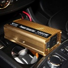 BEAUTY-CAR 1000W 12V Car a 220V conversor de poder w / Porta USB - Golden