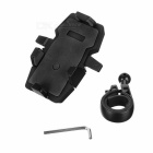 Cycling Riding 360' Rotation Motorcycle Bicycle Mount Holder for GPS / Cell Phone - Black