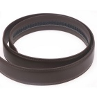 Fanshimite D06 Men's Automatic Buckle Leather Belt - Brown (130cm)