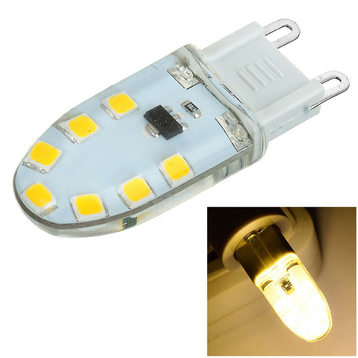 G9 dimmable 3W 14-SMD 2835 300lm LED ampoule blanche chaude