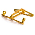 CARKING CNC Motorcycle License Plate Holder Mount Bracket - Yellow