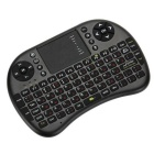 2.4G Mini USB Wireless Version Keyboard Air Mouse - Black