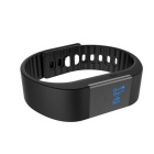 "M1 0.49"" OLED Fitness Tracker Bluetooth Sports Smart Band Wristband Bracelet w/ Pedometer - Black"
