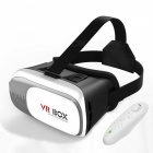 Buy VR BOX 2.0 Version Virtual Reality 3D Glasses + Bluetooth Controlle