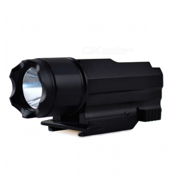 RichFire SF-P08 CREE XP-E LED Taktisk Pistollampa-Svart (1 * CR123)