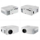 1000 Lumens 1080P Full HD Projetor projetor de LED - Branco