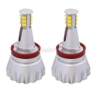 MZ E92 H8 12 XT-E LED 96W Angel Eyes White Foglight for BMW 1/3/6/X5