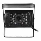 CMOS 120' LED IR Night Vision Bus Truck Lorry Rearview Camera - Black