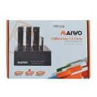 "MAIWO K3084 USB3.0 2.5/3.5"" SATA Four Bit 1:3 Offline Copy HDD Docking - Black"
