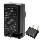 US Plug Camera Battery Charger, EU Plug Adapter for EN-EL20 (100~240V)