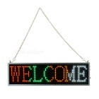 34cm Colorful LED Message Display Panel w/ USB Cable (US Plug)