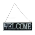 34cm White LED Message Display Panel w/ USB Cable (US Plug)