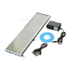 34cm White LED Message Display Panel w/ USB Cable (US Plugs)