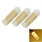 G4 9W LED Bulb Lamp Warm White Light 3000K 733lm 76-SMD 2835 - White + Yellow (AC 220V / 3PCS)