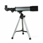 CTSmart 90X Magnification 50mm Astronomical Telescope w/ Tripod - Silver + Black