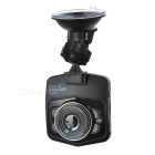 "2.3"" LCD 1080P Full HD CMOS 170' Wide-Angle Car DVR Camcorder w/ Dual Cameras / TF Slot - Black"
