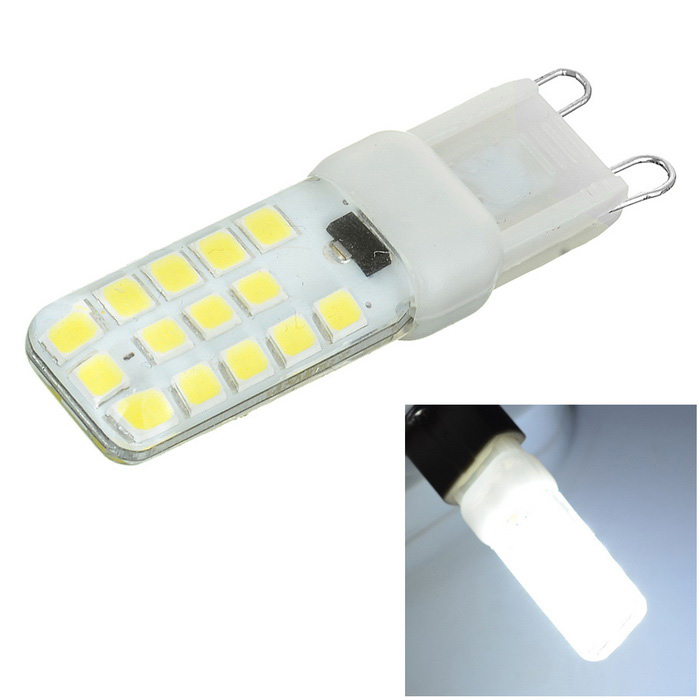 G9 5W Cool White Light 28-SMD 2835 LED Bulb (220 - 240V)
