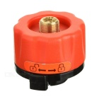 Fire-Maple Outdoor Stove Burner Conversion Head Adapter Revolver Gas Tank - Red + Black