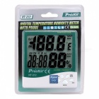 "Pro'skit NT-312 Digital 3.9"" LCD Temperature Humidity Tester - Green"