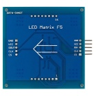 8 x 8 Seamless cascata LED Red Matrix F5 Display Module para Arduino