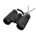 CTSmart 4X 30mm Outdoor Climbing Mini Pocket Binocular Telescope for Children - Black
