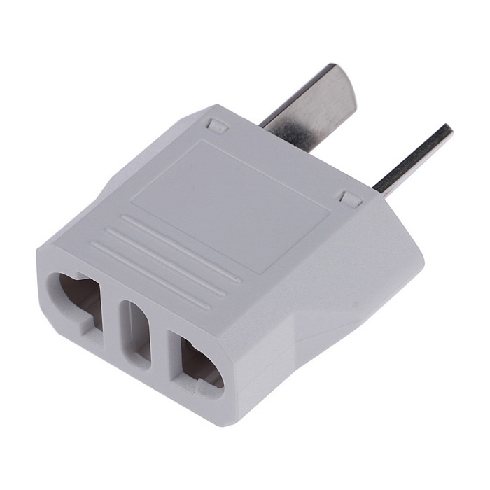 US / EU / Italy Plug Socket to AU Plug AC Power Adapter - White (125V/250V)Plugs &amp; Sockets<br>Form ColorWhiteQuantity1 DX.PCM.Model.AttributeModel.UnitMaterialABSFireproof MaterialNoTarget Country &amp; RegionMainly in AU but also in US, Africa, America and other countries and places where this adapter plug is needed.Rate Voltage125-250VRated Current6 DX.PCM.Model.AttributeModel.UnitRated Power1500 DX.PCM.Model.AttributeModel.UnitCompatible Plug2-Flat-Pin Plug,US Plugs,EU Plug (2-Round-Pin Plug),AU Plug,Others,Italy PlugGroundingNoOutlet1 DX.PCM.Model.AttributeModel.UnitWith Switch ControlNoSurge Protection FunctionNoLightning Protection FunctionNoWith FuseNoPower AdapterAU PlugPacking List1 x Power Adapter<br>