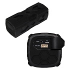 Outdoor NFC Waterproof Shockproof BT Speaker Mobile Power Bank - Black