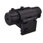RichFire SF-P10 Tactical 635nm Red Laser Sight Scope for Gun - Black