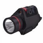 RichFire SF-P15 5mW Red Laser Gun Sight w/ Mount, Flashlight - Black