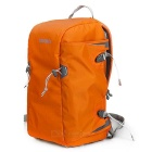 CADEN E5 Waterproof Camera Nylon Backpack for Canon / Nikon - Orange + Grey