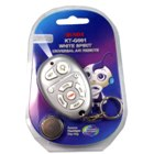 Universal Air Conditioner Remote Controller Keychain with 2-LED Flashlight