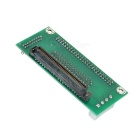 SCA 80-Pin a 68-pin / 50-pin Adapter - Verde + Nero