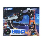 JJRC H6D 4-CH 6-Axis Pelle FPV RC Quadcopter w / 5.8G Image Transmission & 2.0MP Camera-Punainen + Musta
