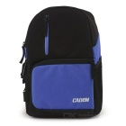 CADEN D5 Casual Fashion Shoulder Bag Camera Bag - Black + Deep Blue