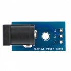 DC005 naar DIP Adapter Board DC Jack Power Connector Board Module